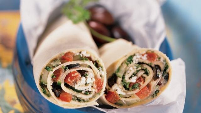 Mediterranean Wraps