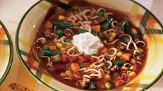 Zesty Beef and Noodle Vegetable Soup Recipe