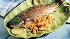 Cornbread-Pecan Stuffed Fish Recipe