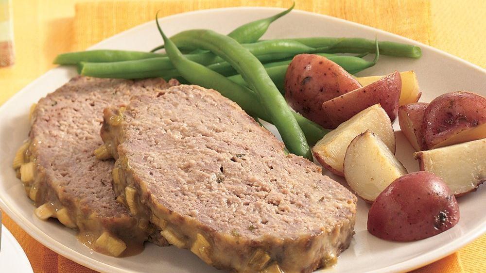Mustard-Glazed Meat Loaf