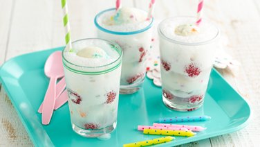 Birthday Cake Ice Cream Floats