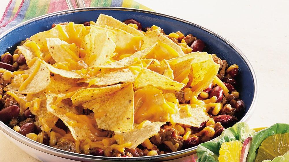Easy Nacho Skillet Dinner