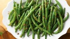 Green Beans with Glazed Shallots in Lemon-Dill Butter Recipe