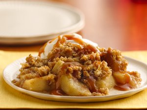 Caramel-Apple&#32;Crisp