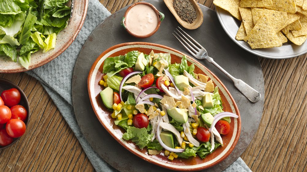 Chipotle Chicken Taco Salads