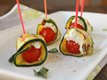 Grilled Zucchini Ribbon Roll-Ups