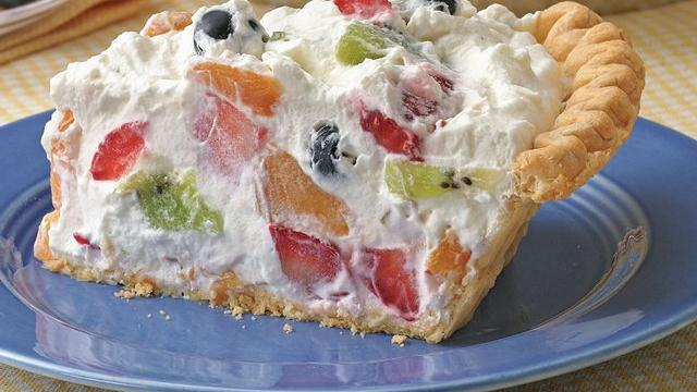 Fruit and Cream Pie