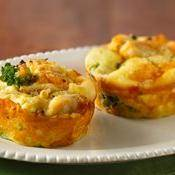 Impossibly Easy Mini Chicken Pot Pies recipe from Betty Crocker