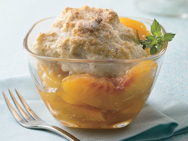 Quick Peach Cobbler
