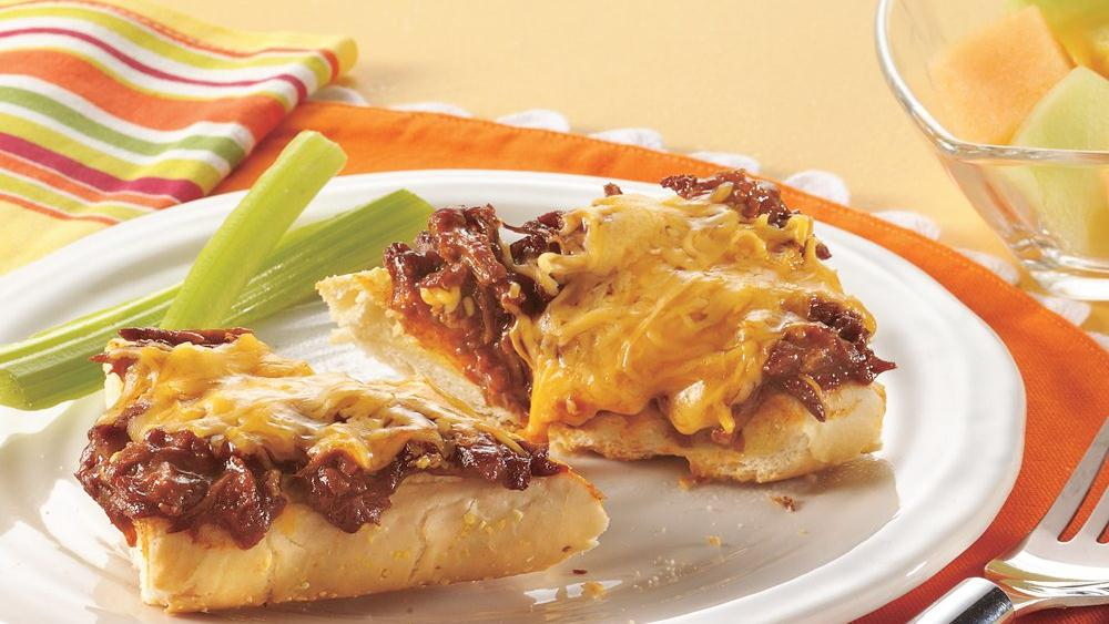 Smothered Beef Sandwiches