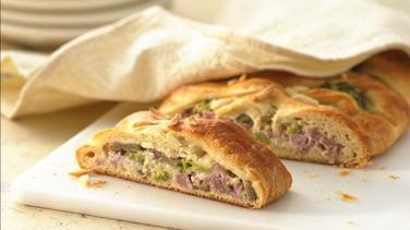 Ham and Swiss Crescent Braid