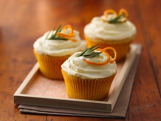 Naranja y romero Cupcakes