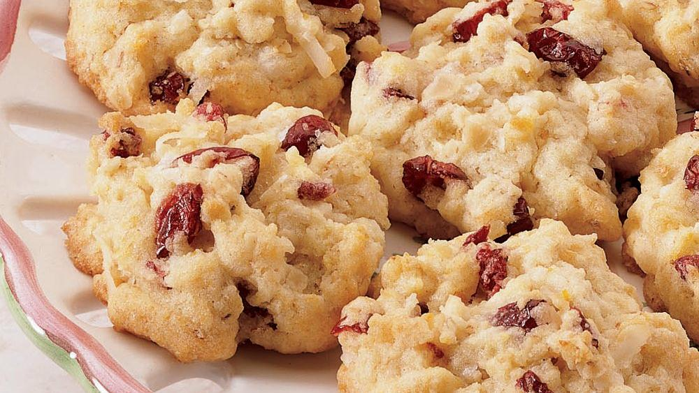Cranberry Quick Cookies