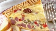 Wild Rice and Ham Country Tart Recipe