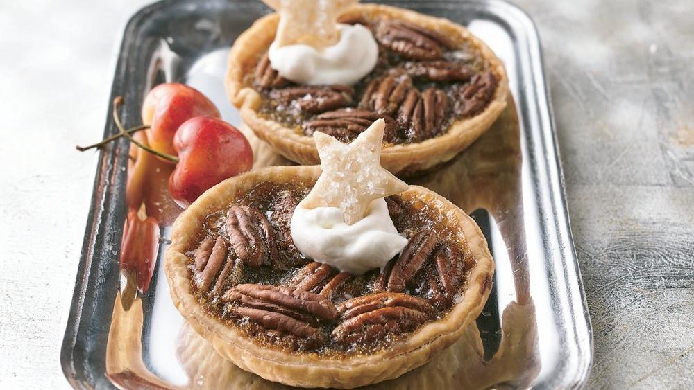 Coffee-Pecan Tarts
