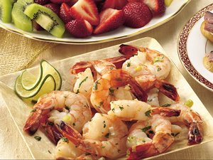 Southwest Zesty Margarita Shrimp
