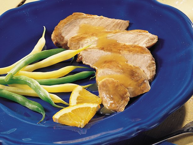 Slow Cooker Wild Duck Breast à  l'Orange