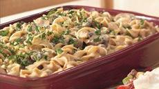 Hamburger Stroganoff Casserole Recipe