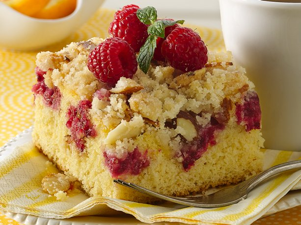 Real Simple Raspberry Crumb Cake