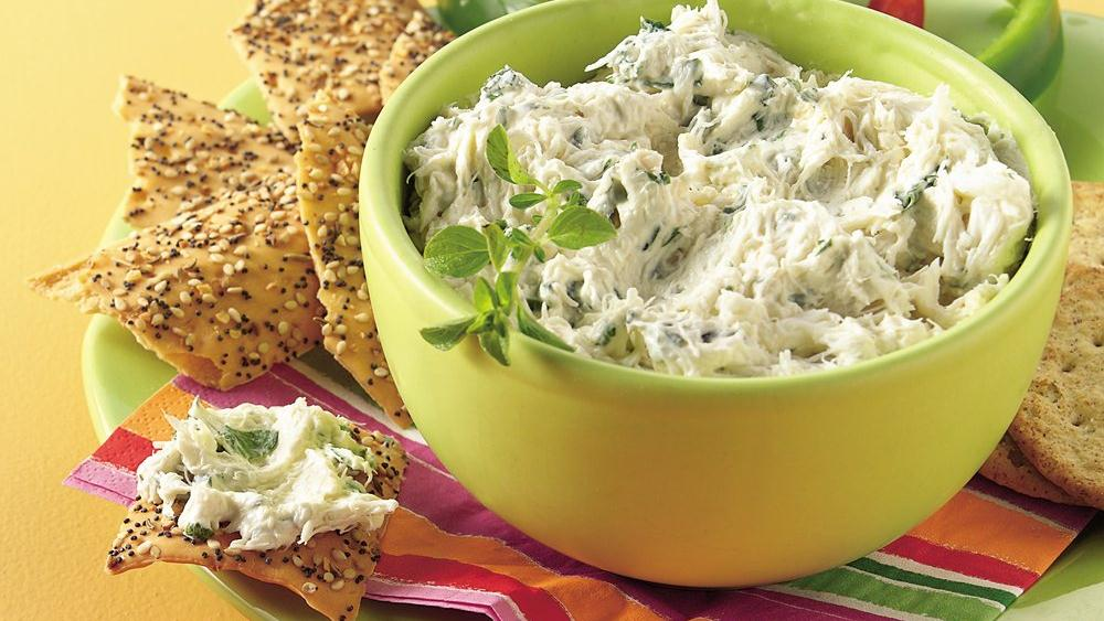 Herb-Crab Spread