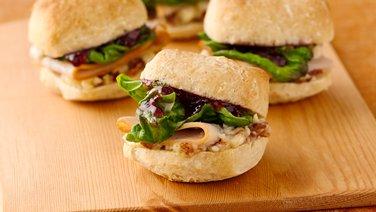 Turkey and Cherry Sandwich Minis