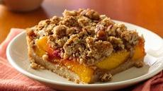 Peach Pie Squares Recipe