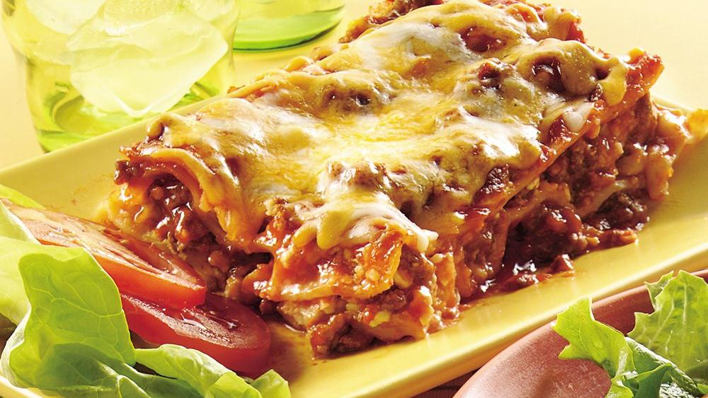 Cheeseburger Lasagna