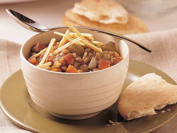 Slow Cooker Ham and Lentil Stew