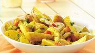 Warm Honey-Mustard Potato Salad