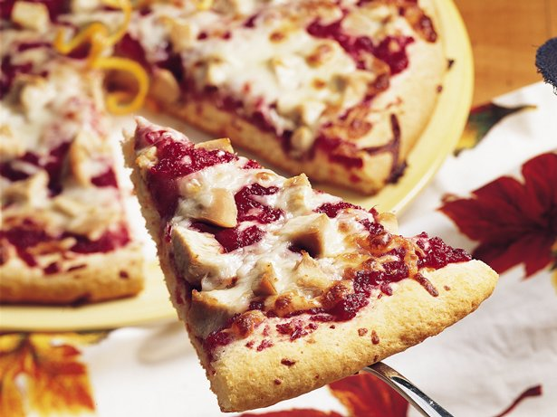 Cranberry Orange Turkey Flatbread