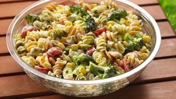 Southwestern Ranch Pasta Salad