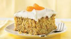 Carrot-Mandarin Orange Cake Recipe