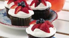 Star-Berry Cupcakes Recipe