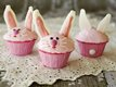 Pink Bunny Cupcakes