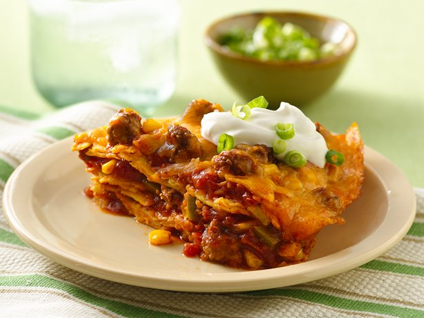 Beef Enchilada Stack