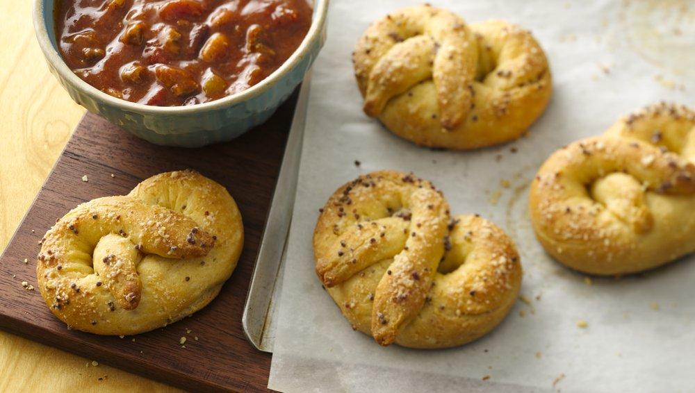 Cornbread Soft Pretzels