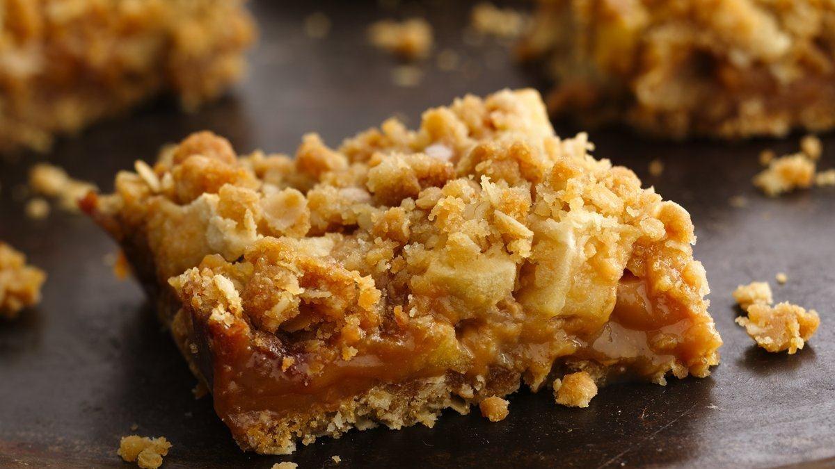Caramel Apple Bars - Life Made Delicious