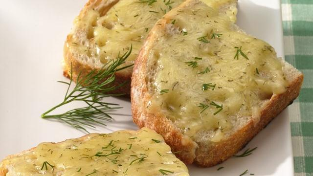 Dill-Havarti Sourdough Toast