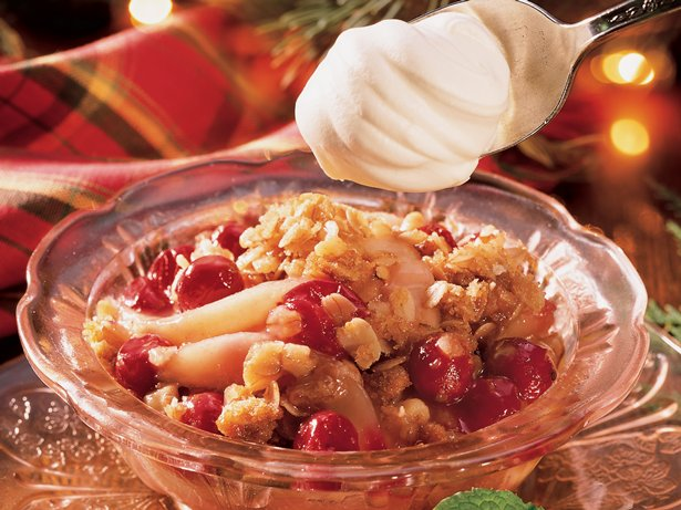 Pear-Cranberry Crisp