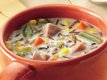 Slow-Cooker Ham and Wild Rice Soup