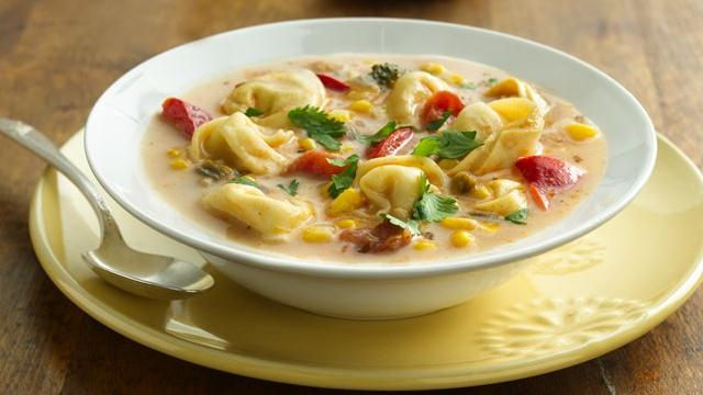 Southwest Tortellini Chowder