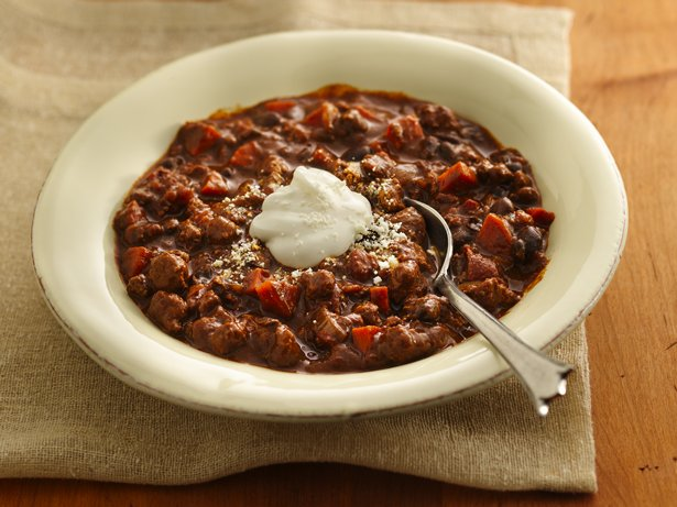Slow Cooker Turkey Mole Chili