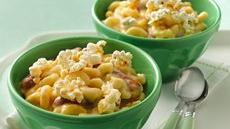 Beer-Cheese Mac and Sausages Recipe