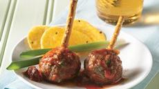 Meatballs with Fire Roasted Tomato Sauce Recipe