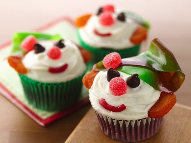 Red Velvet Holiday Elf Cupcakes
