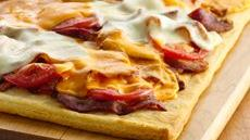 Bacon and Cheese Crescent Pizza Recipe