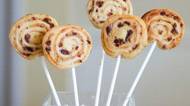 Bacon Date Pinwheel Pops