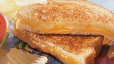 Grilled Two-Cheese Sandwich Recipe