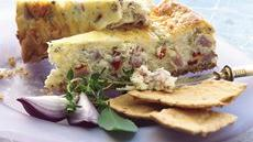 Ham and Swiss Appetizer Cheesecake Recipe