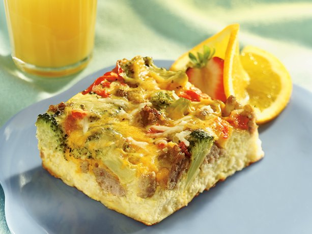 Italian Sausage Strata